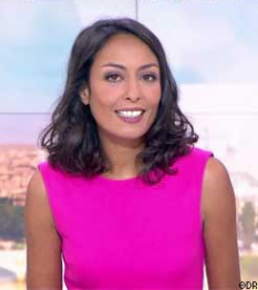 ROBE CLAUDIE PIERLOT LE 16/06/2017 FRANCE 2